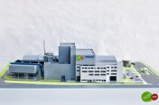 Take a look at the miniature incineration plant in Poznan. A model of the MWTTP can be viewed at the Poznan City Hall!
